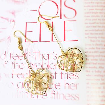 heart  fretwork pierce