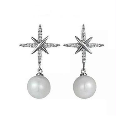 crystal ×  pearl  pierce