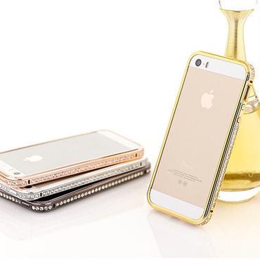 【SALE】iPhone5 / iPhone5s きらきら デコレーション バンパー No2