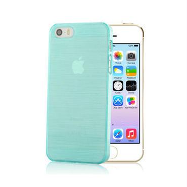 【SALE】iPhone5/5s スケルトンケース ブルーグリーン