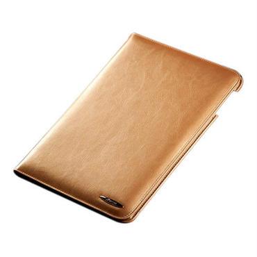 iPad Air 高級牛革レザーケース / ゴールド