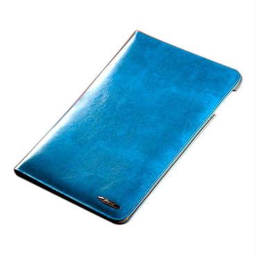 iPad Air 高級牛革レザーケース / ブルー