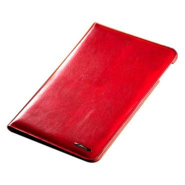 iPad Air 高級牛革レザーケース / レッド