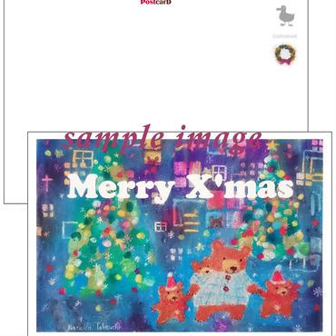 クリスマスカード 1