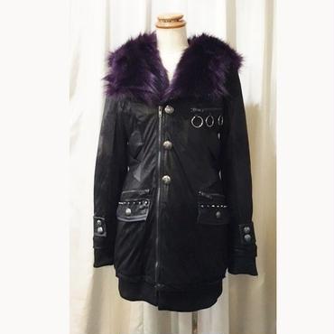 【SEX POT ReVeNGe】 GORGEOUS FUR BLACK コート【20%OFF!!】