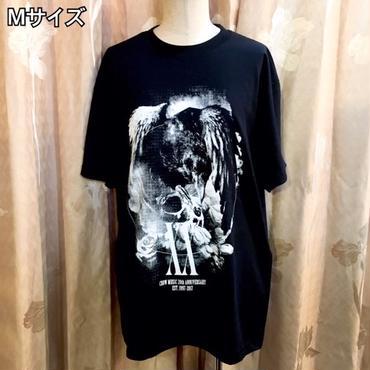 CROW MUSIC 20th ANNIVERSARY Tシャツ★激レアサイン色紙付き★