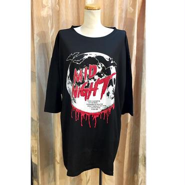 【HELLCATPUNKS】HORROR NIGHT 7分袖ビッグTシャツ
