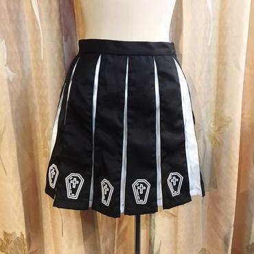 【HELLCATPUNKS】COFFINプリーツスカート