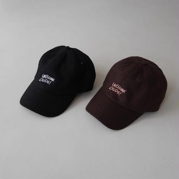 DUDE INN ×ARGUE SOUVENIR WOOL CAP