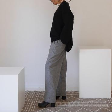 ※RESTOCK※WOOL FLANNEL MELLOW PANTS(HETHER GRAY)