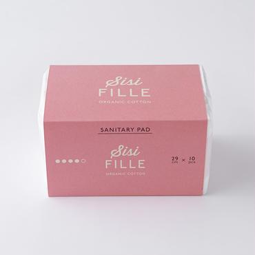 【sisiFILLE】SANITARY PAD 29cm 特に多い日用(羽つき)