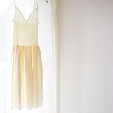 【Souple Luz】キャミソールペチコートドレス