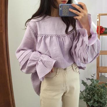 romantic design blouse