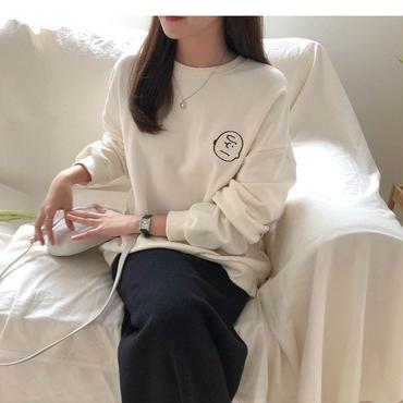 【 1/3~再入荷 】charlie brown sweatshirt