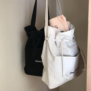 【 2/3 - 再入荷 】drawstring bag