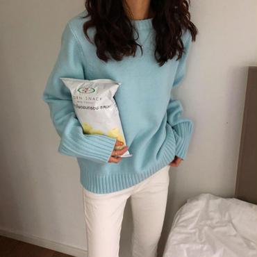 spring color knit