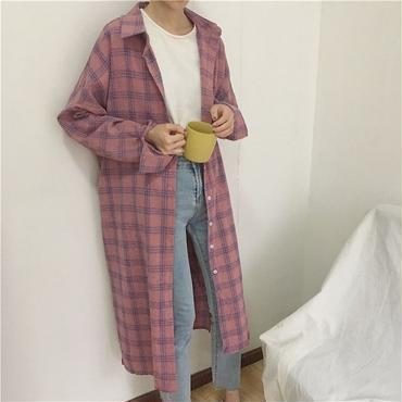 plaid long shirts