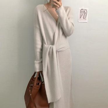 twist knit dress