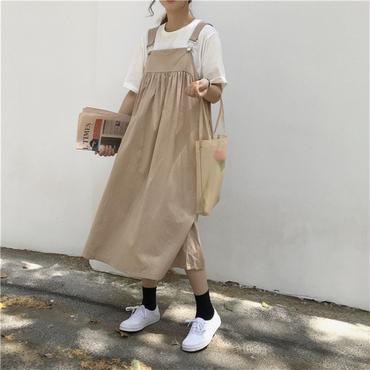 【再入荷】girly jumper flare skirt