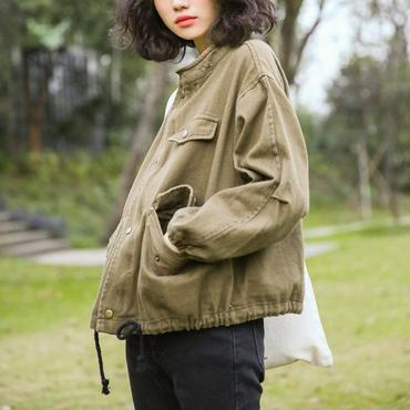 out stitch military jaket