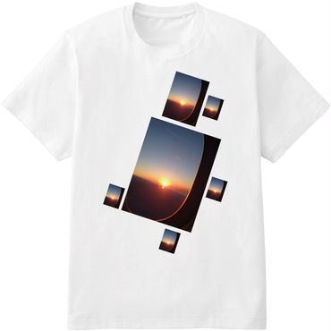aka'aka 飛行機の窓からTシャツ