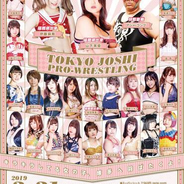 2019.3.31 東京女子プロレス レディースシート