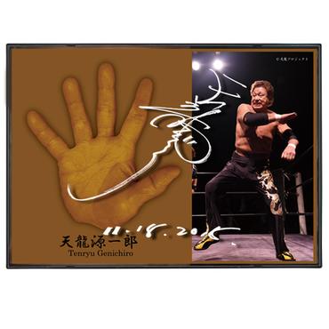天龍源一郎引退記念立体手形プレート