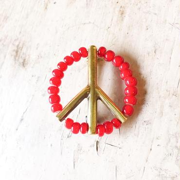 39 Sunku(サンク)ビーズピースピンズ(RED)