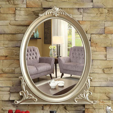 大型ウォールミラー モダン ヨーロピアンデザイン 寝室 リビング ドレッサー 鏡 サロン 姫系 壁掛け