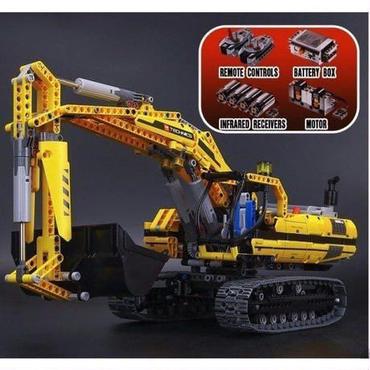 レゴ 8043 ショベルカー 互換品 テクニック 1123ピース