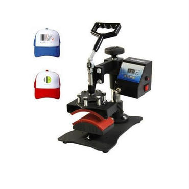 キャップ用 熱転写プレス機 ヒートプレス 帽子 国内対応(110v)