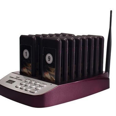 TIVDIO T-113 レストラン ウェイター システム 無線 コール ブザー 顧客対応機器 お客様呼び出し