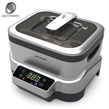 Skyman 1.2l デジタル 超音波クリーナー 110-240ボルト 超音波風呂掃除 機殺菌クリーナー 殺菌 消毒