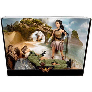 ワンダーウーマン Wonder Woman マテル Mattel Toys バービー おもちゃ DC Movie Barbie & Captain Steve Trevor Doll 2-Pack