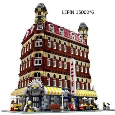 レゴ 10182 クリエイター カフェコーナー セット 互換品 レゴブロック lepin 15002 ホテル HOTEL