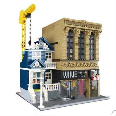 レゴ 15035 クリエイター バー と 金融会社 セット 互換品 2018 新作 知育玩具