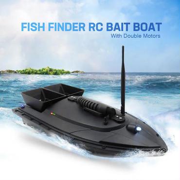 フィッシュファインダー 餌撒きタンク付き フィッシング ラジコンボート 1.5Kg積載可能