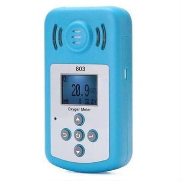 酸素計ポータブル Oxygen(O2) 濃度検出器で液晶ディスプレイとサウンドライト アラーム