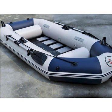 【送料無料!】プロフェッショナル釣りボート 耐摩耗 ゴムボート PVC 3人用 インフレータブル【新品】