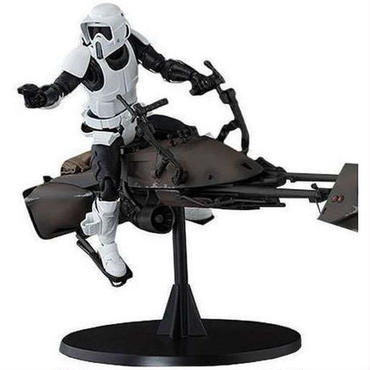 スターウォーズ Star Wars バンダイ Bandai Japan フィギュア おもちゃ S.H. Figuarts Scout Trooper & Speeder Bike