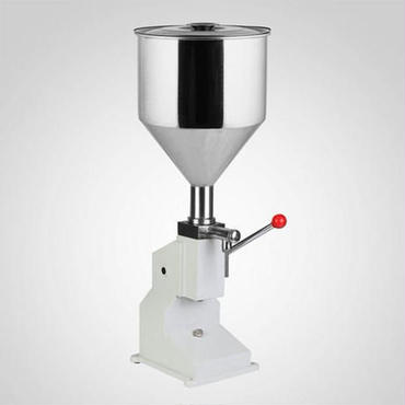 卓上型 クリーム/液体充填機 ハンドフィラー 空気圧式 プロ用 業務用 本格的 小分け ジャム オイル 瓶詰 手動