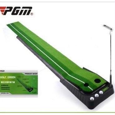 『改良版』パターマット パター パット練習マット パッティング 室内 ゴルフ ●毎日の練習で勝利!