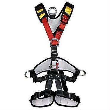 【送料無料!】YaeTact アウトドア クライミング 登山降下 安全帯ベルト バストベルトに座っ登山ハーネス座席 高所作業保護 懸垂下降アウト【新品】