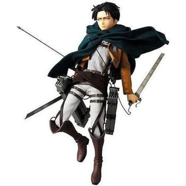 進撃の巨人 Attack on Titan メディコム Medicom Toys フィギュア おもちゃ Real Action Heroes Levi Collectible Figure