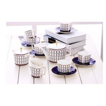 高級ティーカップセット コーヒーカップセット カップ&ソーサー4客セット カップ 上品 陶磁器ティーセット / エルメス ウェッジウッド お好きな方にも