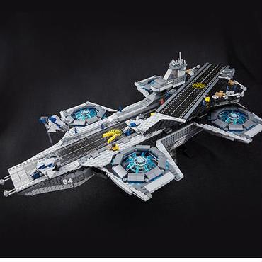 レゴ互換ブロック  スーパーヒーローズ ヘリキャリア LEPIN社 07043