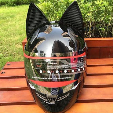 猫耳へルメット セルティヘルメット NITRINOS フルフェイス モトクロス バイク ツーリング