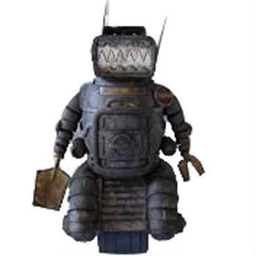 フィギュア おもちゃグッズ Toys and Collectibles 3A 2000 AD Ro-Jaws Blackhole Figure - Ashley Wood