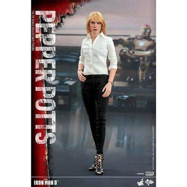 アイアンマン Iron Man ホットトイズ Hot Toys フィギュア おもちゃ 3 Movie Masterpiece Pepper Potts 1/6 Collectible Figure