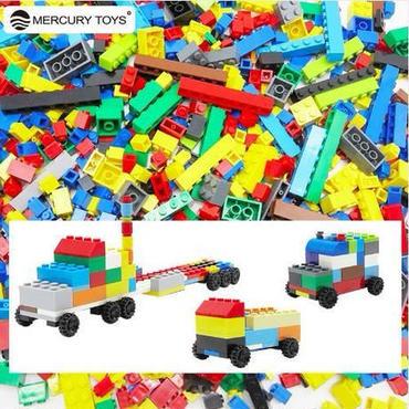 ☆1000ピース19種類☆ブロック おもちゃ 収納袋付き 知育 積木 新品 0歳 1歳 2歳 3歳 送料0円